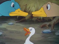 Still from the Silly Symphony 'The Ugly Ducklin' (Walt Disney, 1939)