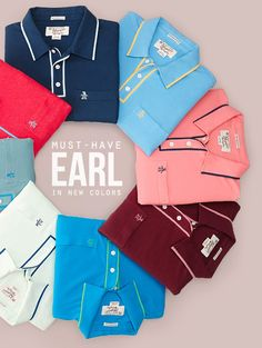 Original Penguin, my husband loves these polos, they are comfortable and casual. Polo Shirt Outfits, Mens Polo T Shirts, Fashion Showroom, New T Shirt Design, Clothing Photography, Fashion Photography Inspiration, Shirt Store, Sharp Dressed Man, Clothing Accessories