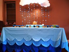 Noah's Ark Themed Baby Shower
