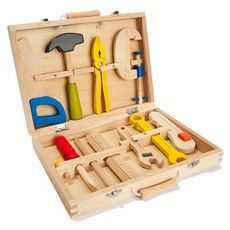 Wooden Tool Box | Kid Crave