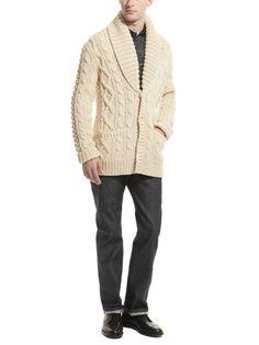 Michael Kors - cable knit cardigan