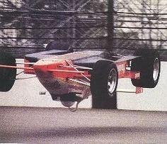 1987, Pancho Carter #Indy500 practice.