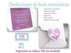Invitaciones de boda Alcobendas