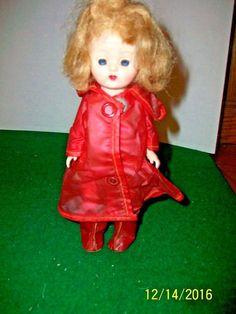 8 inch Hard Plastic  SLW Cosmopolitan Doll Ginger in Rain Suit   #Cosmopolitan #Dolls