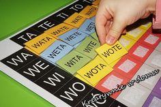 TabelkoweLOVE a nauka czytania   Kreatywnie w domu