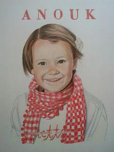 Portret Potlood Juliette swillens