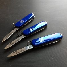 Victorinox Swiss Army Knife, Engraved Knife, Torches, Pocket Knives, Tactical Knives, Laser Engraving, Arsenal, Blade, Weapons
