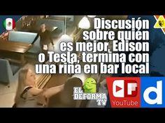 Discusión sobre quién es mejor, Edison o Tesla, termina con una riña en ...