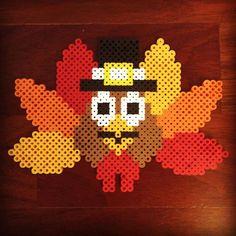 Thanksgiving perler beads by the_perlair