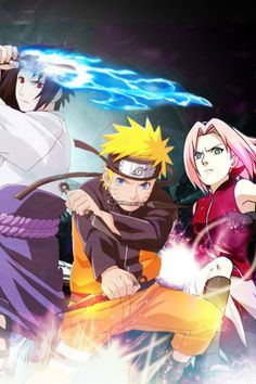 Team 7 from #naruto