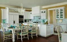 Best Turquoise Beach Theme Kitchen In A Florida Home Http 640 x 480