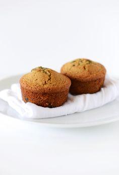vegan gluten free blueberry muffins