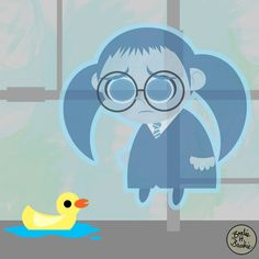 Vector Moaning Myrtle by brodiehbrockie on DeviantArt Moaning Myrtle, Harry Potter Fan Art, Mischief Managed, Anime Comics, Hogwarts, Christmas Crafts, Deviantart, Cupboard, Mirrors