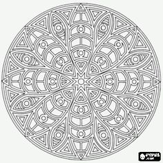Mandala as a star/daisy