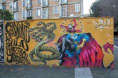 StreetArt Roma: Dott Solo Strange   Solo   2012   Zona: Quadraro   #art #streetart #roma
