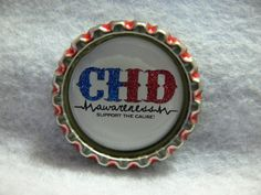 CHD awareness magnet