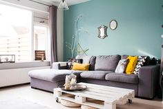My Houzz: Revamped Flea Market Finds add personality to a Dutch home eclectic-living-room