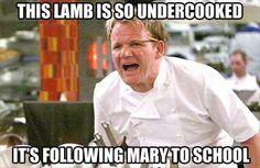 These Gordon Ramsey memes crack me up everytime!
