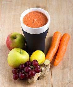 Apple, Carrot, and Ginger Blitz