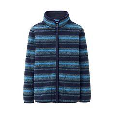 KIDS Printed Fleece Full Zip Jacket