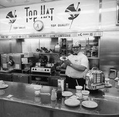 Top Hat burgers, Detroit.