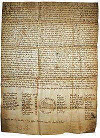 oro do Bo Burgo de Castro Caldelas, privilexio dado polo rei Afonso VIII. Primeiro documento real en lingua galega. Allariz, 1228