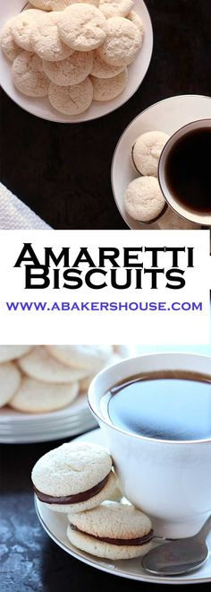 Amaretti biscuits are a gluten free Italian cookie (or biscuit) that are perfect on their own or even better sandwiched with a chocolate filling. These little meringues could be cousins with the better known macaron.