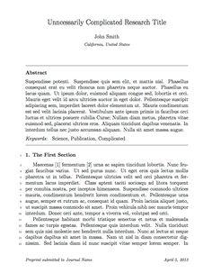 Evise     cover letter Cover Letter Sample Journal Submission Coverjournal  submission cover letter Extra medium size