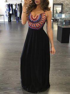 Sexy Women' s Fashion Backles Sleeveless Maxi Dress Irregular Casual Halter Beach Dresses