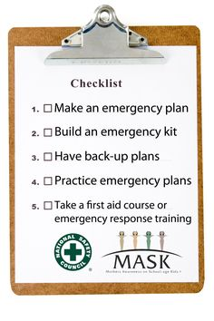 A Minute with Mom: September is National Preparedness Month! Ensure your family is safe during an emergency with these 5 tips. Also, be sure your family knows the emergency plan, where the first aid kit is and who to call.
