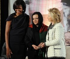 "Weasel Zippers:  Michelle Obama picks Maria Bashir for ""Women of Courage"" award in Washington.  Ms Bashir prosecuted over 100 women for Afghanistan's moral crimes such as adultery.......talk about a war on women!"