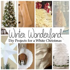 Diy Projects for a White Christmas