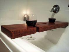 Check out this item in my Etsy shop https://www.etsy.com/au/listing/248920271/bath-caddy-bath-tray-blackbutt-recycled