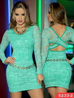 Vestido Moda Colombiana Thaxx Ref. 107 -5233-2