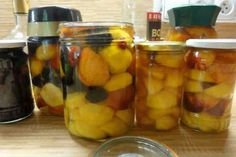 Pickles, Cucumber, Food And Drink, Stuffed Peppers, Vegetables, Drinks, Recipes, Diet, Syrup