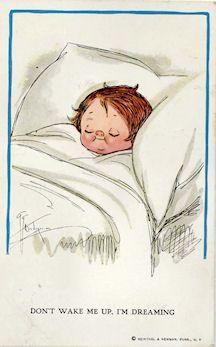 Wiederseim postcard - Grace Drayton