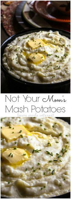 This mashed potatoes recipe is rich and creamy and made with a secret ...