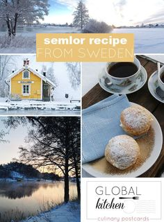Mardi Gras in Sweden is fettisdag, Fat Tuesday and the Fat Tuesday treat is semlor, a cardamon bun with marzipan and whipped cream inside! The Swedish semla (plural is semlor) is traditional Shrove Tuesday treat in Scandinavia, in Finland we call them laskiaispulla.  Get this amazing recipe now from @Skimbaco
