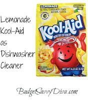 Frugal-Freebies.com: Frugal Ideas and Fun Crafts - 6/21/12 (ALL)   ● Lemonade Kool-Aid as Dishwasher Cleaner   ● Ankle Weight as Stroller Counterbalance   ● Pinterest Tested: Tub Cleaner