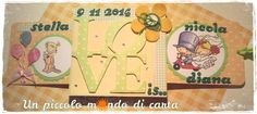 #Double slider card #sizzix Love