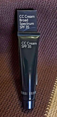 BB CC and Alphabet Creams: Bobbi Brown Cc Cream Broad Spectrum Spf 35 1.35 Oz - Pale Nude BUY IT NOW ONLY: $44.99