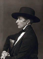 Radclyffe Hall  was an English poet and author, best known for the lesbian classic The Well of Loneliness.