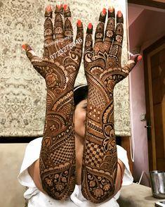 📌 hajra:::::: mahendi design occasion design for A bride Mehndi Designs Feet, Full Hand Mehndi Designs, Legs Mehndi Design, Henna Art Designs, Mehndi Designs For Girls, Mehndi Designs 2018, Mehndi Design Photos, Beautiful Mehndi Design, Mehandi Designs