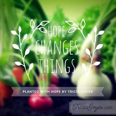 An excerpt from Planted with Hope by Tricia Goyer!
