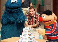 Bob McGrath--Sesame Street