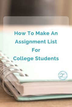 Keeping up with all the readings and assignments for college can be a headache. That's why I'm using this handy college assignment tracker this semester! Importance Of Time Management, Time Management Skills, Types Of Education, Online College Degrees, College Courses, College Hacks, College Notes, School Organization, College Students