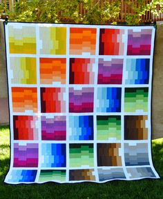 I LOVE THIS QUILT! @ http://www.happyquiltingmelissa.com/2014/09/off-kilter-quilt-finish-and-tutorial.html