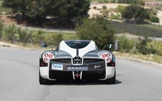 "Pagani Huayra ""The King"" spotted during Car Week #exoticcar #supercar #car #exotic #cars #hypercar #exoticcars #carporn #supercars"
