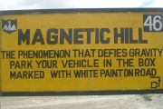 Magnetic Hill - The phenomenon that defies gravity. Know more about it at http://www.thrillophilia.com/blog/magnetic-hill-in-ladakh/