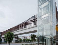 Foshan New City Village Walkway Bridge,© Yuansheng Studio